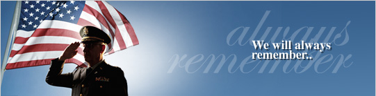 We will always remember..
