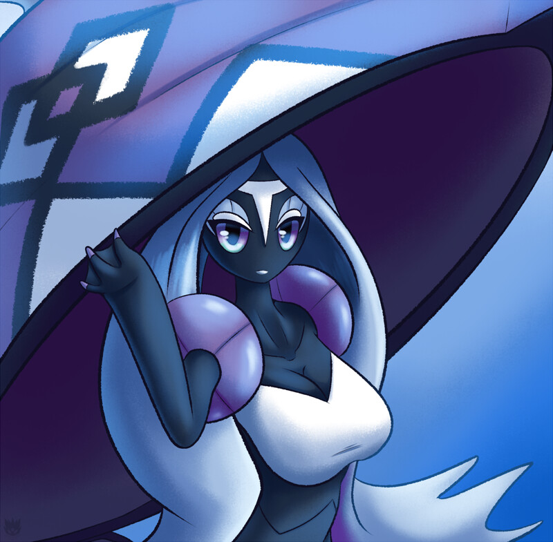 Cute Espeon Wallpaper Tapu Fini By Latiar010 Fur Affinity Dot Net