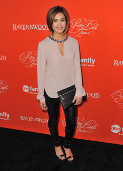 Nicole Gale Anderson Attends Pretty Little Liars Halloween
