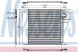Chłodnica klimatyzacji - skraplacz NISSENS (94226)
