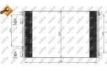 Chłodnica klimatyzacji - skraplacz NRF (35449)