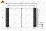 Chłodnica klimatyzacji - skraplacz NRF (35811)