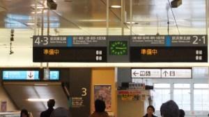 表示は皆、準備中|東日本大震災の翌週の蒲田駅