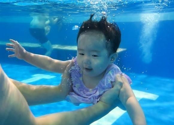 Swimming MY baby桃園市中壢 嬰幼兒游泳/嬰兒游泳