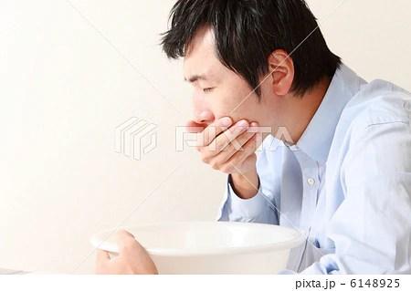 吐き気を催す男性の寫真素材 [6148925] - PIXTA