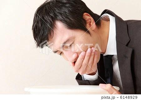 吐き気を催すビジネスマンの寫真素材 [6148929] - PIXTA
