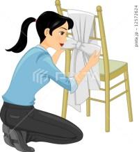 Tiffany Chair Ribbon [12572624] - PIXTA