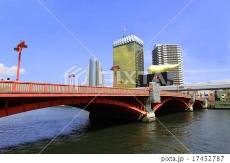 隅田川 吾妻橋の寫真素材 [17452787] - PIXTA