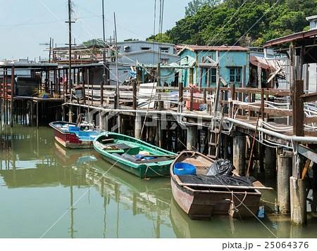 香港 大澳漁村の寫真素材 [25064376] - PIXTA