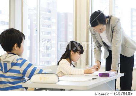 先生と小學生の寫真素材 [31979188] - PIXTA