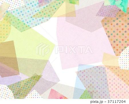 紙 コラージュ 背景素材のイラスト素材 [37117204] - PIXTA