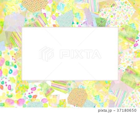 紙 コラージュ 背景素材のイラスト素材 [37180650] - PIXTA
