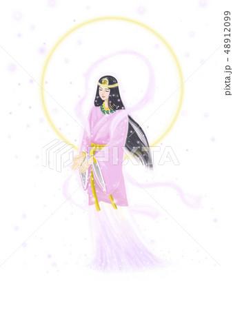 日本の女神のイラスト素材 [48912099] - PIXTA