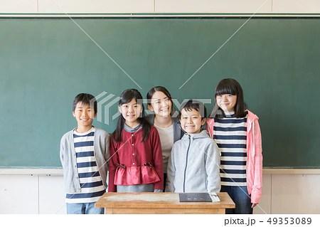小學生 先生の寫真素材 [49353089] - PIXTA
