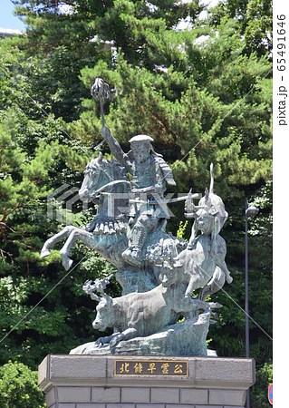 北條早雲公像の寫真素材 [65491646] - PIXTA