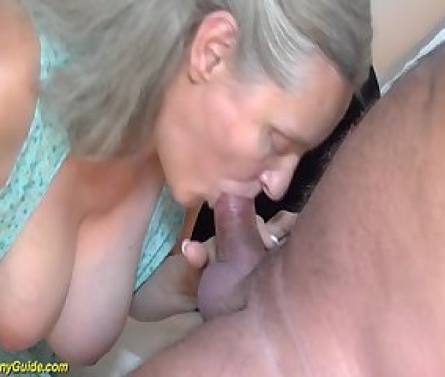 Years Old Granny Doing Deepthroat