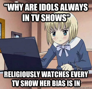 why are idols in tv shows