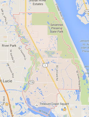 Port St Lucie Zip Code Map : lucie, Lucie, 34952, Code., Estate