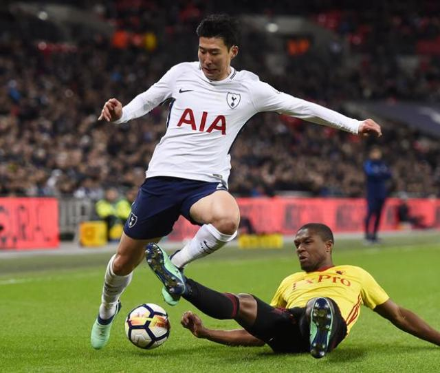 Pin Kabasele Saw Red On Wednesday Against Tottenham Efe