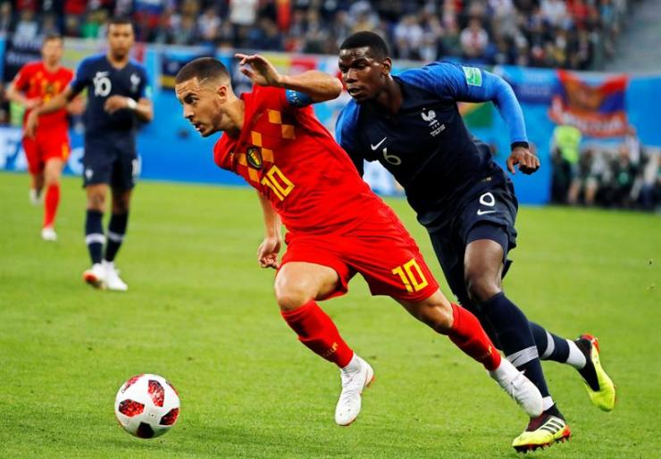Image result for hazard and pogba