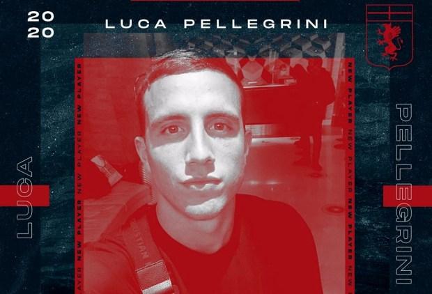 Pellegrini will spend next season on loan at Cagliari. GenoaCFC
