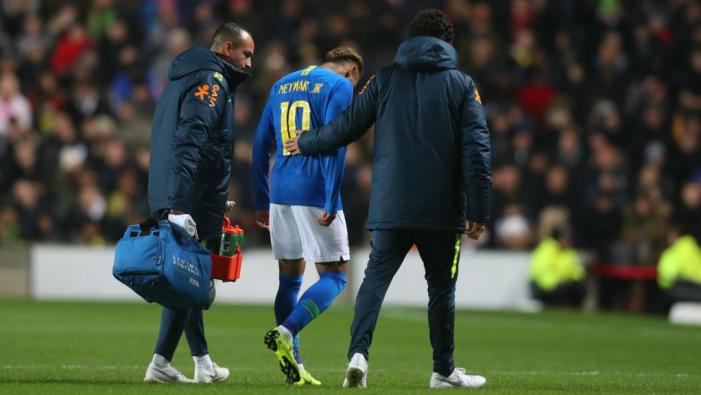 Neymar injury not serious, says doctor. Goal