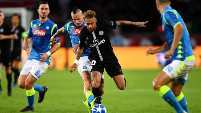 Neymar says PSG have to fight against Napoli. GOAL