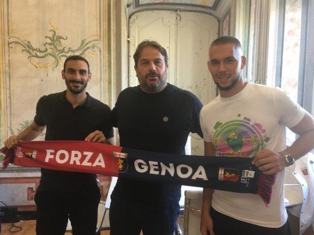 El Genoa anunció un 2x1: se hizo con las cesiones de Pjaca y Zappacosta -  BeSoccer