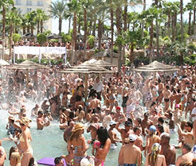 Rehab Pool Party At The Hard Rock Hotel Las Vegas