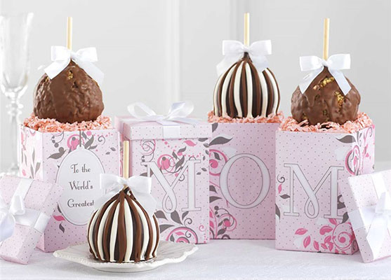 Mrs. Prindable's Greatest MOM Petite Caramel Apple Gift Set