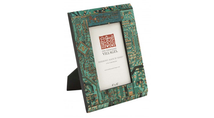 Circuit Board Photo Frame at Ten Thousand Villages