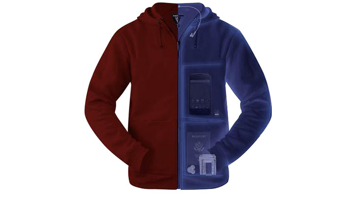 The Hoodie Cotton at ScotteVest