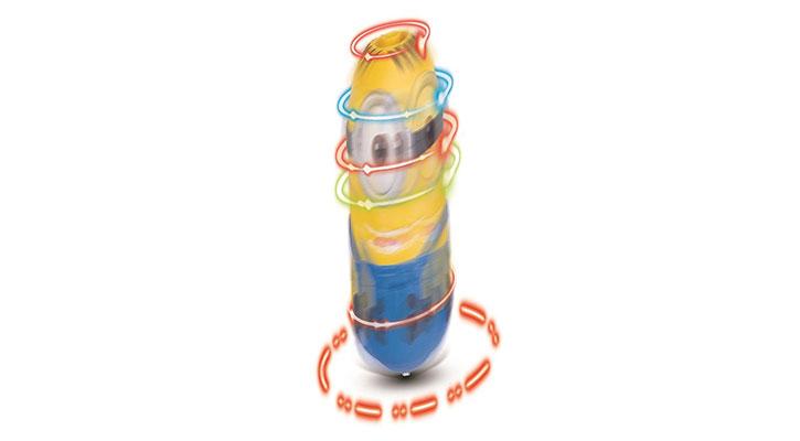 Minions Movie Spinnin' Stuart at Toys R Us