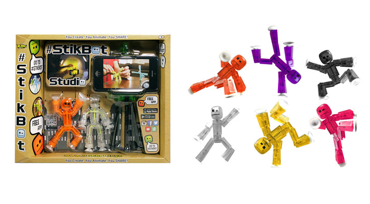 Stikbot Deluxe 2-Pack With Tripod