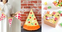 Deliciously Awesome DIY Pizza Party Decorations