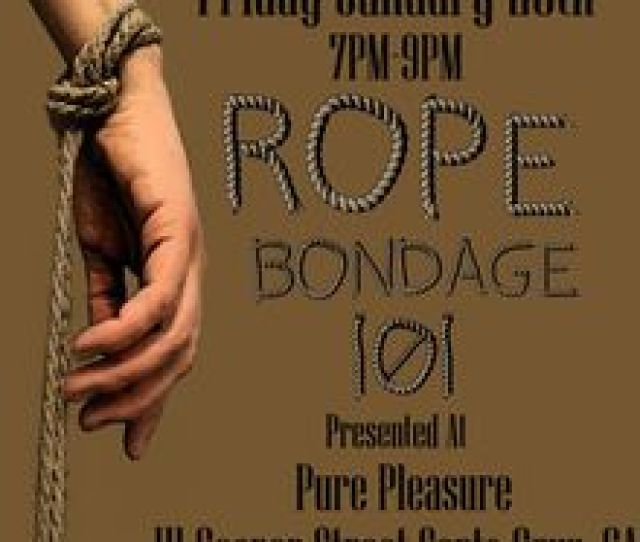 Rope Bondage 101 Presented By Rain Degrey
