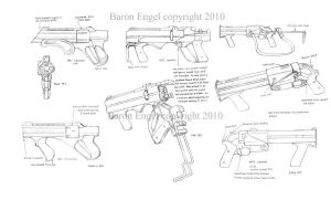Russian Nagant 1895 revolver by Baron-Engel on DeviantArt