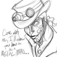 Steam Powered Giraffe- Mr. Reed by olafpriol on DeviantArt