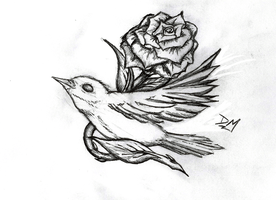 The nightingale and the rose by WendyMitchell on DeviantArt