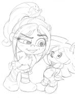 Auntie Amy Rose: teenage Shaundre by Narcotize-Nagini on