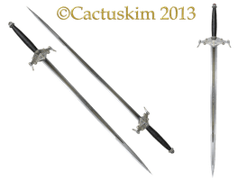 Conjal's Trident and Polearm by FantasyStock on DeviantArt