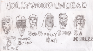 Hollywood Undead Notes From The Underground Masks by