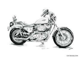 Harley Davidson Custom 2 by kloggi69 on DeviantArt