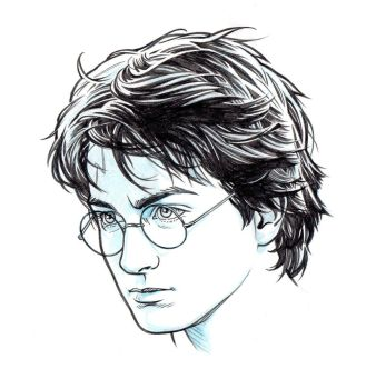 HARRY POTTER by Jerome-K-Moore on DeviantArt