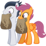 Scootaloo X Rumble Nuzzle By Ludiculouspegasus On Deviantart