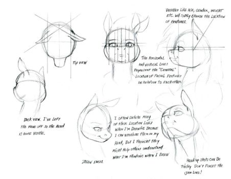 MLP tutorials and studies favourites by Pony-Berserker on