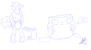 Ibai Packed With The Pampers by Argles on DeviantArt
