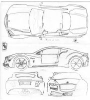 All New Land Rover Discovery Blueprints by hanif-yayan on