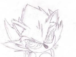 fleetway super sonic by Game-Over1985 on DeviantArt