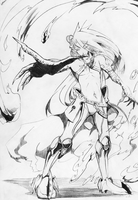 Verlaid, the White Executioner Sketch by DoctorZexxck on